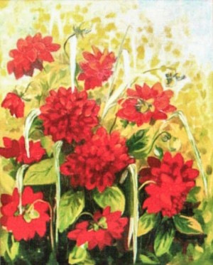 'Mother's Dahlias'