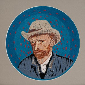 Фурлєтова Н. 'Self-portrait With Grey Felt Hat'