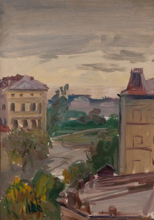 M. Hlushchenko 'View From The Window', 1977