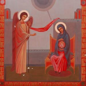O. Honcharuk 'Annunciation', 2017.
