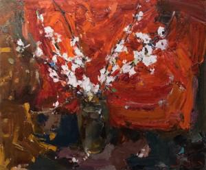«Весняну експресію» представили в ужгородському салоні «Диптих»