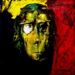 Червоне й чорне, 1987, т.двп, левкас, жовткова емульсія