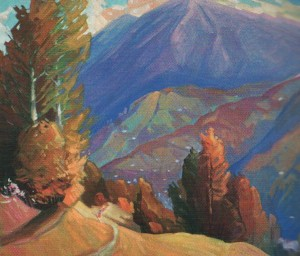 'An Autumn Etude', 2000, oil on canvas, 60x70