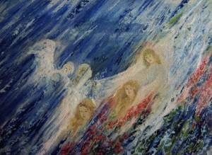 'Два крила', 2010, п.о., 30х40