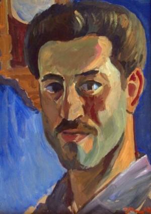 'Автопортрет', 1962, 40х29,5