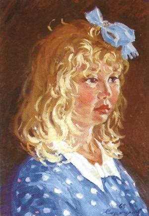 Лейла. Портрет, 1968