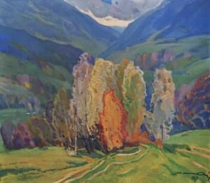 Берізки, 1979, п.о. 78х90