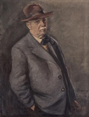 Self-Portrait, 1962, oil on canvas, 81x64