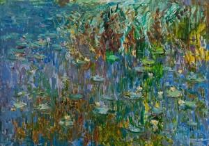 M. Hlushcnenko 'Water Lilies'