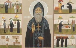 O. Honcharuk 'St. Amfilohy Pochaivskiy', 2018.