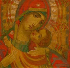 M. Hresko 'The Virgin Of Mercy', 2012