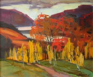 Мадяр Л.'Осінь в горах'