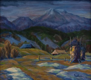 Пейтер М. 'Вечоріє в горах'