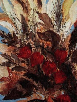 'Осінній ноктюрн', 2010, п.о., 30х40