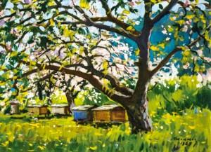 Квітучі дерева, 1969 р.