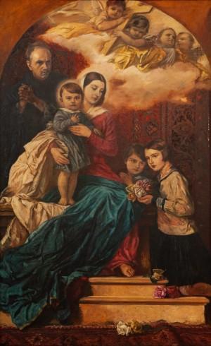 Y. Bokshai Holy Family', 1934-1935, 190x116