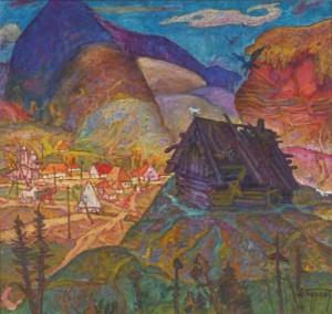 Розлетілися орли з гнізда, 1988, п.о., 94х100