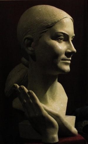 Гав'юк Ю. 'Піаністка', 2007, гіпс