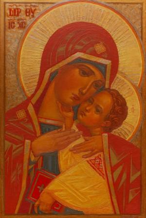 M. Hresko 'The Virgin Of Mercy', 2018