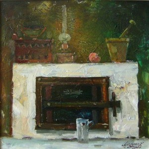Мадяр Л.'Натюрморт з пічкою', 2006