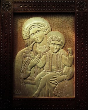 Y. Pavlovych 'Icon Of The Mother Of God-Patroness Of Hutsul Region', 2011