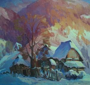 'Sunny Day', 2011, oil on canvas, 70x70