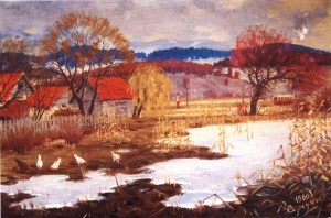 Околиця Ужгороду, 1960