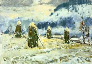 Перший сніг, 1987 р.