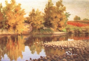 Осінь над Ужем, 1958