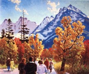 Осінь. Домбай, 1983