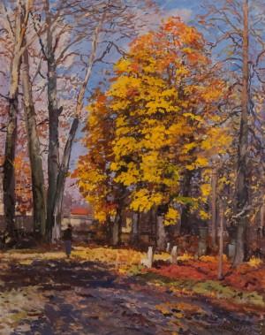 Бокшай Й. 'Осінь', 1958