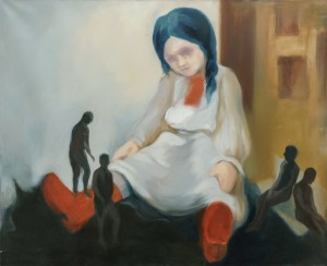 A. Borotei Adult Children's Games', 2014, oil on canvas, 90x110