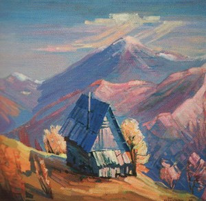 'An Old Hut', 2010, oil on canvas, 60x70