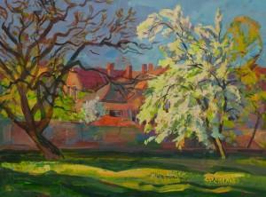 V. Vovchok 'Spring Sunny Day'