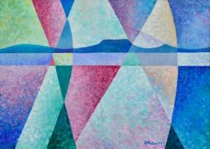 'Balaton Lake', 2014, 70x100
