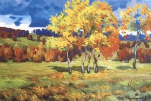 Осінь. Шовковиця, 1968