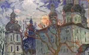 Під вечір. Єлецький собор в Чернігові, 1986