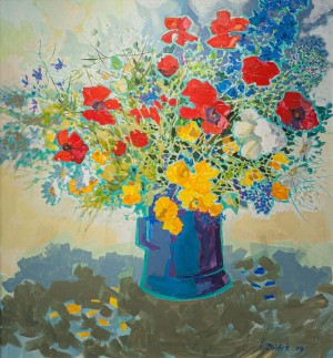 I. Didyk 'Wildflowers', 2018.
