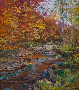 E. Frantsysk Autumn Stream', 2017