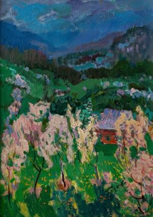 M. Hlushchenko 'Transcarpathian Spring'