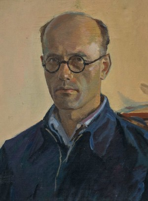G. Gluck 'Self-portrait', 1949