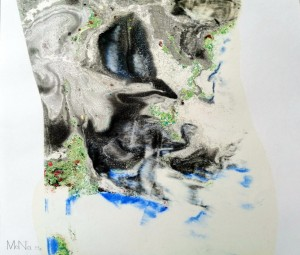 N. Moskalova-Lakatosh 'WAY I', 2019, 30x37.