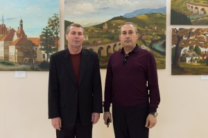 Exhibition of works by Volodymyr Klymkovych and Vasyl Pariii