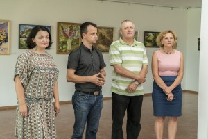 PROFESSIONAL AND AMATEUR ARTISTS PRESENTED THE JOINT PLEIN AIR EXHIBITION IN UZHHOROD