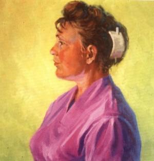 Портрет Тамари, 1962