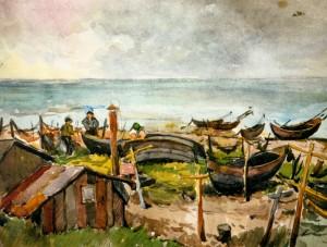 Риболовецька станція, 1950 р.