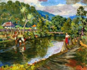 Село біля річки, 1946 р.