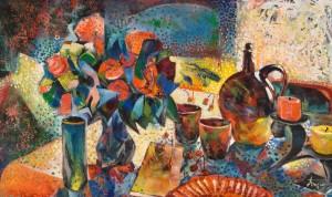 Still life, 1988, oil on canvas