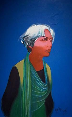Фірцак Б. 'Наталі В', 2013, п.темп., 95x60