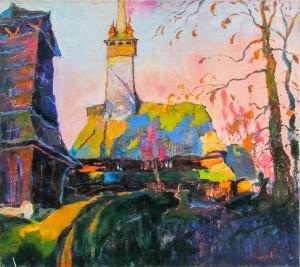 O. Shandor 'Evening Bell', 2015